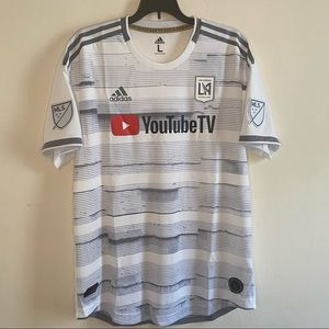Adidas Los Angeles FC YoutubeTV Soccer Jersey